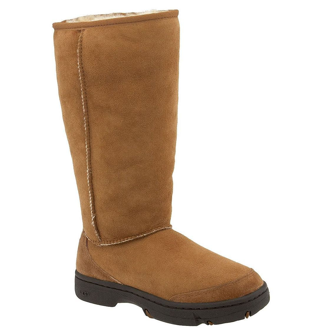 Alternate Image 1 Selected - UGG® Australia 'Ultimate Tall Braid' Boot (Women)