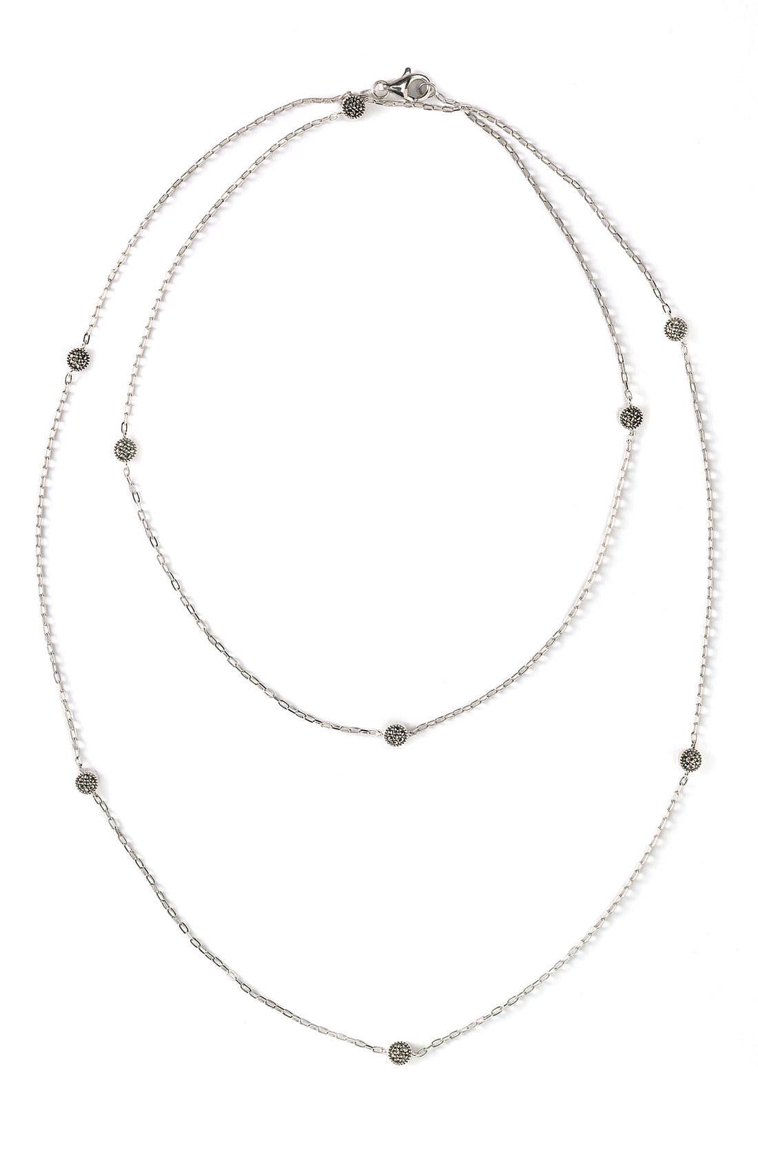 Alternate Image 2  - Judith Jack Long Illusion Necklace