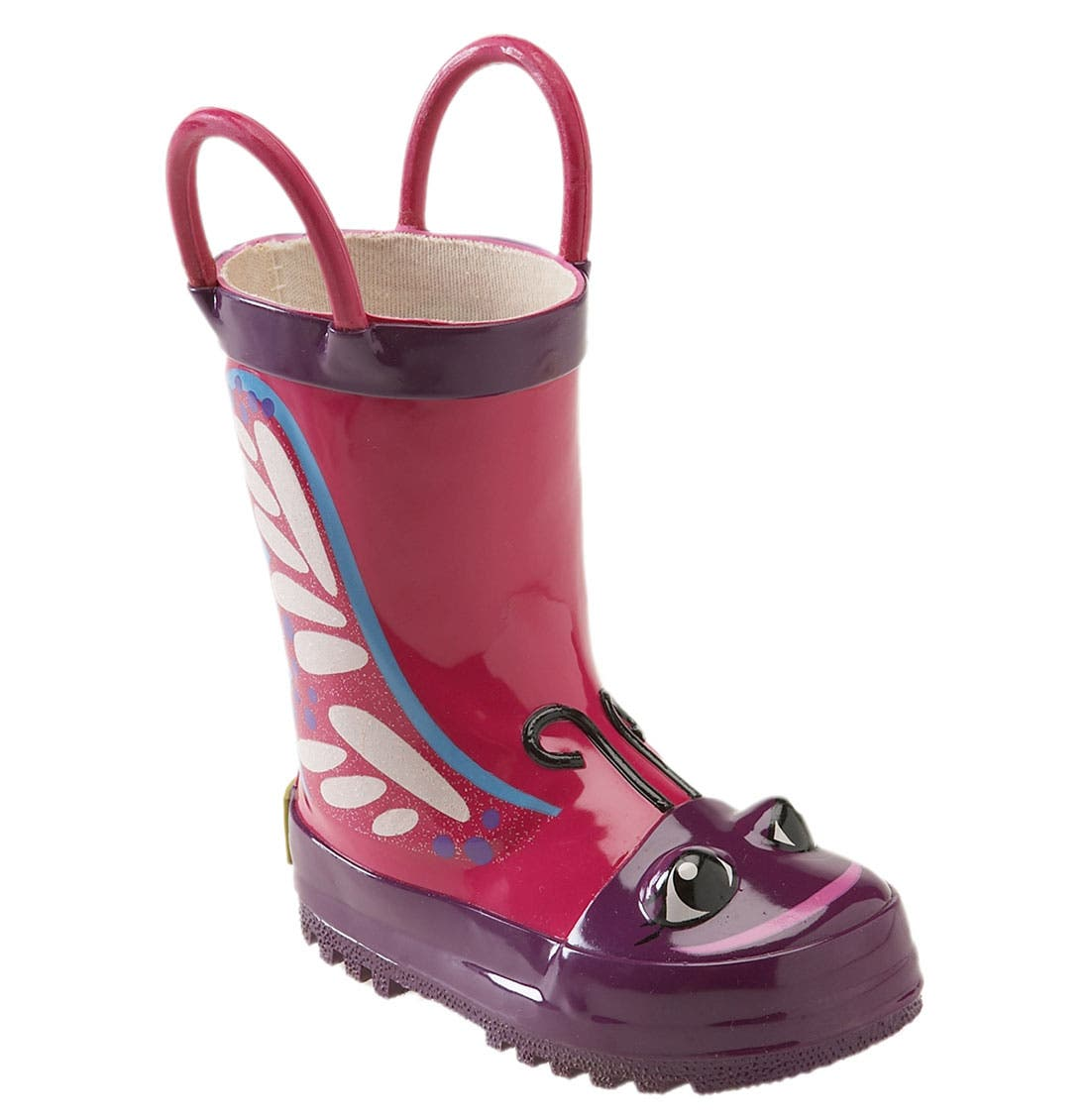 Main Image - Western Chief 'Butterfly' Rain Boot (Walker, Toddler, Little Kid & Big Kid)