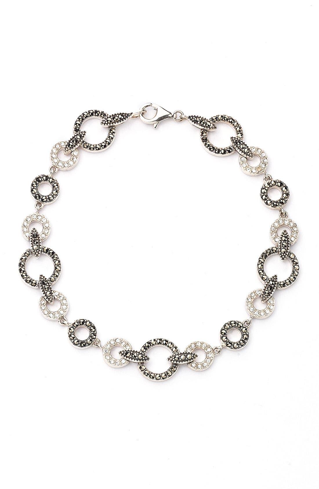 Main Image - Judith Jack Circle Link Bracelet
