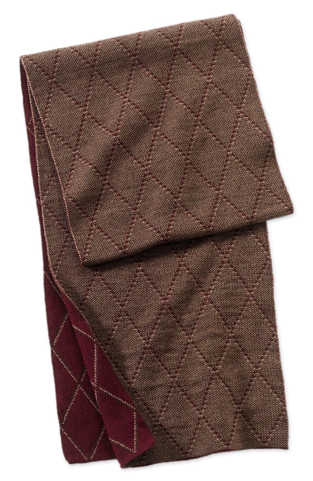 Alternate Image 1 Selected - Nordstrom Patterned Wool Scarf