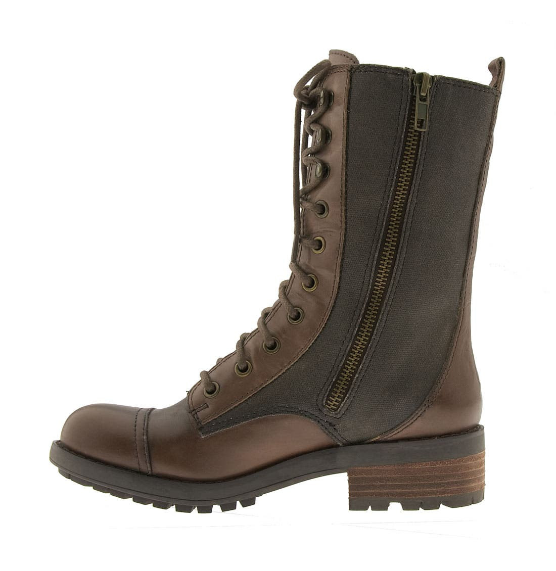 'Corley' Boot,                             Alternate thumbnail 2, color,                             Dark Brown Leather