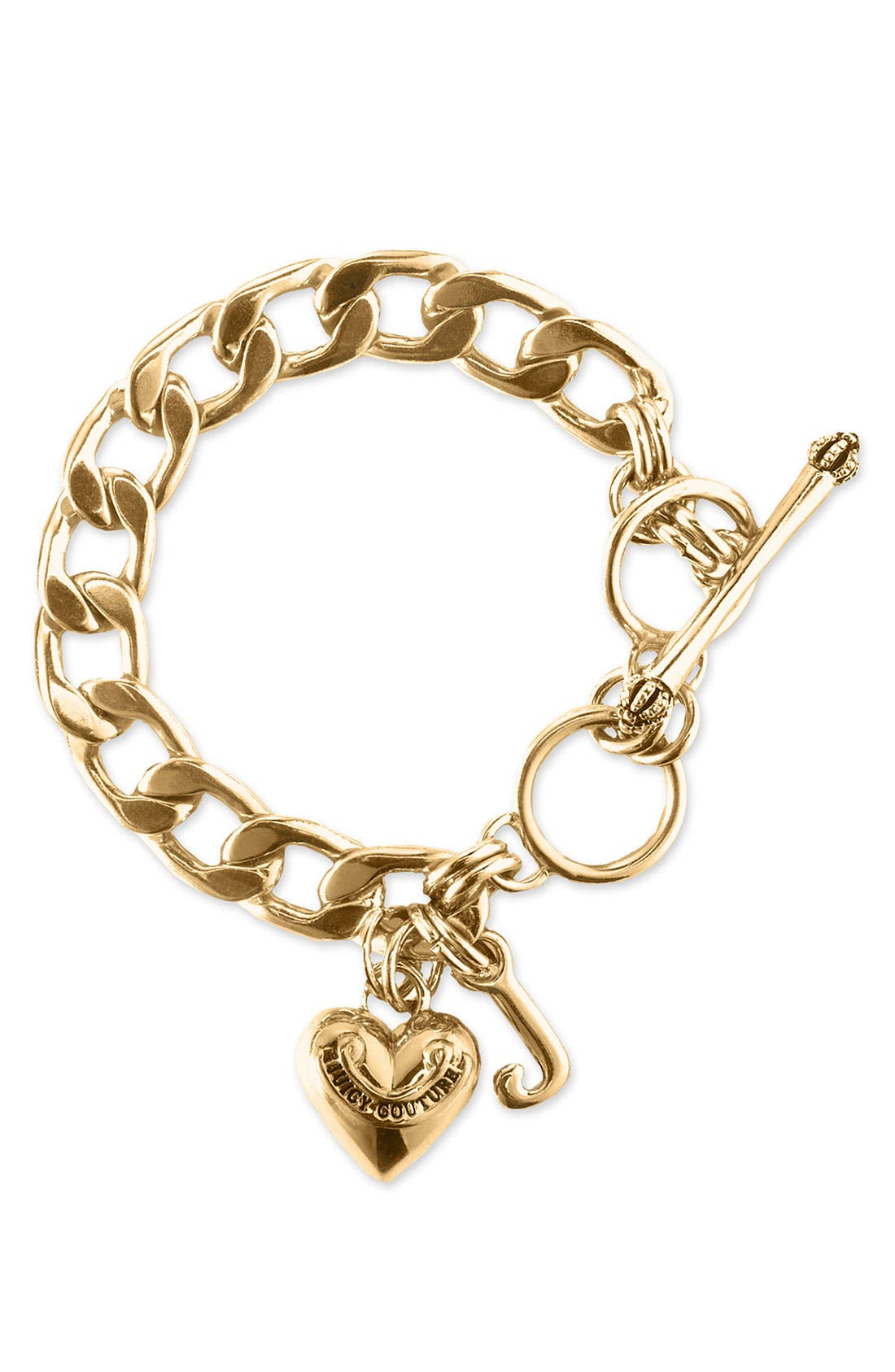 Alternate Image 1 Selected - Juicy Couture Link Bracelet (Girls)