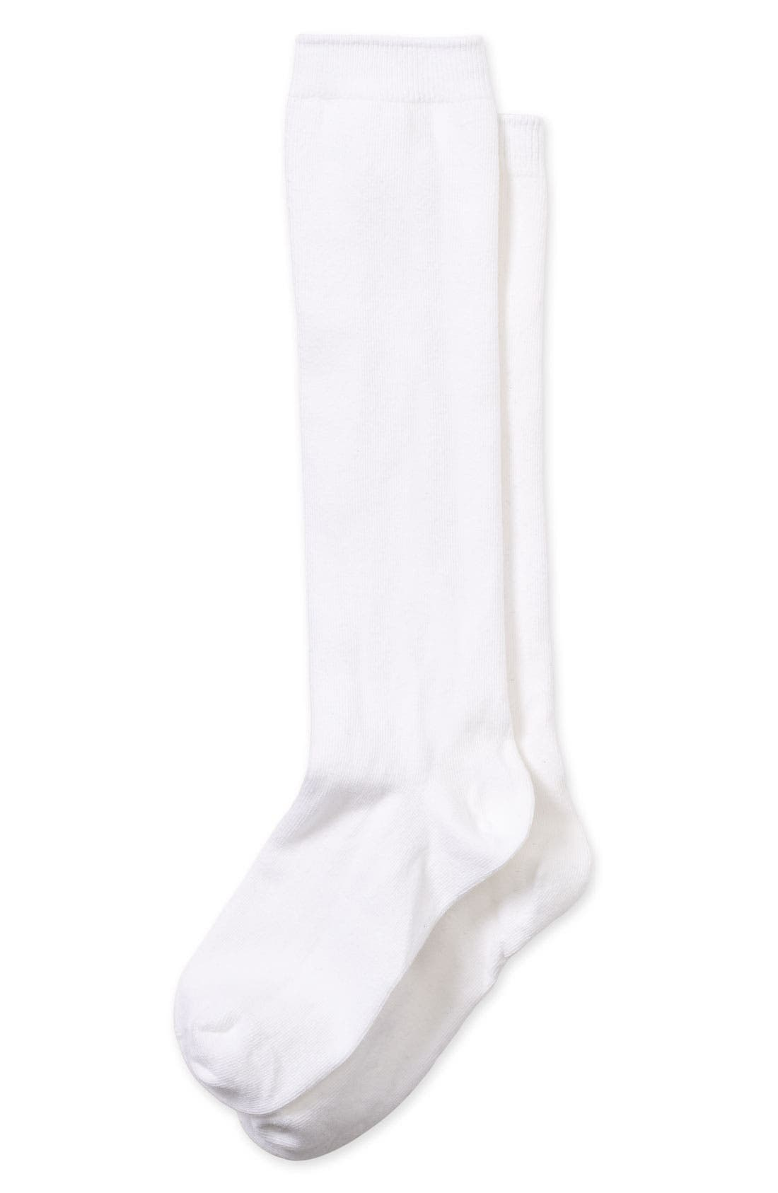 Alternate Image 1 Selected - Nordstrom Knee High Socks (Little Girls & Big Girls)