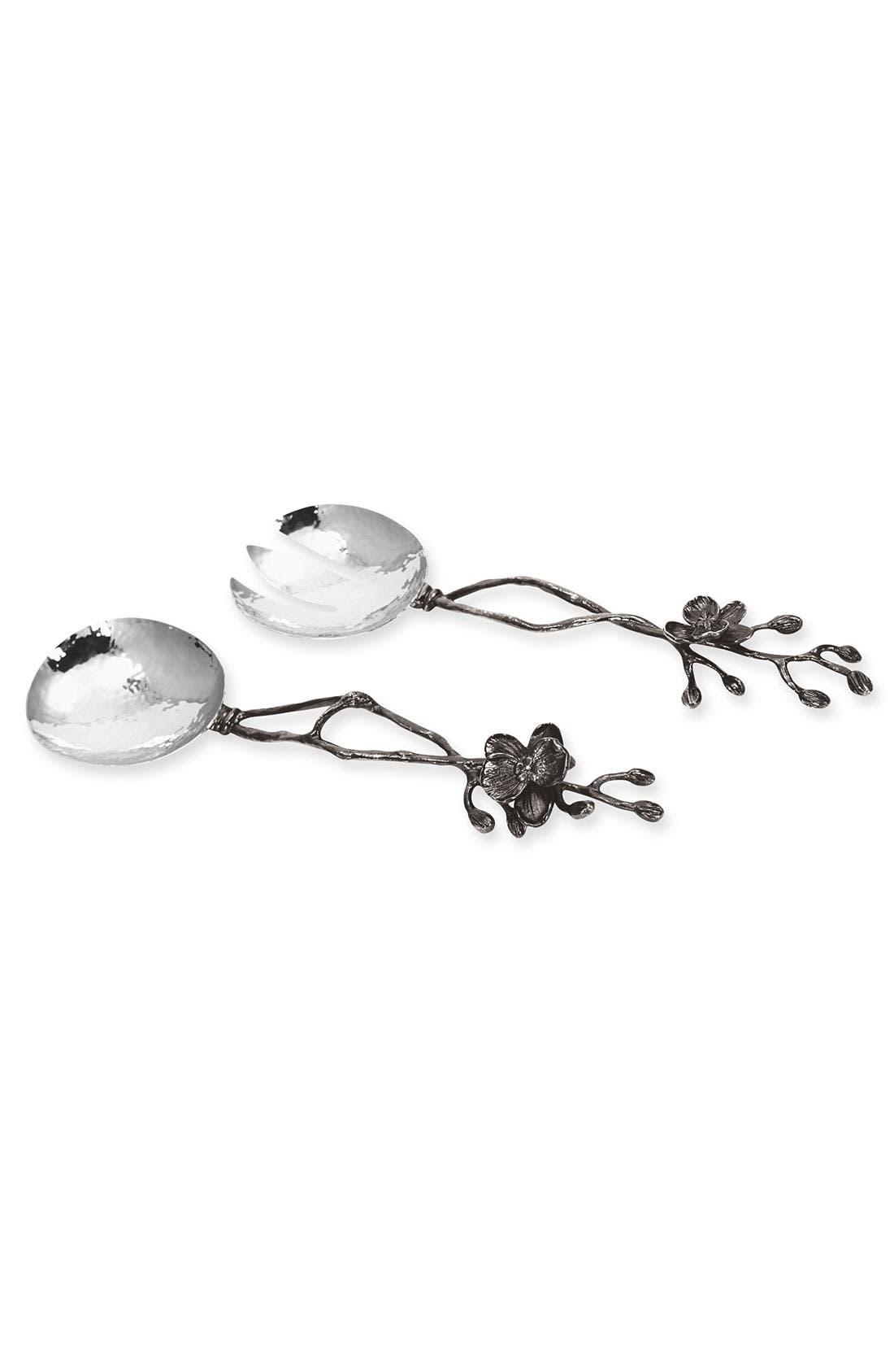 Alternate Image 1 Selected - Michael Aram 'Black Orchid' 2-Piece Salad Serving Set