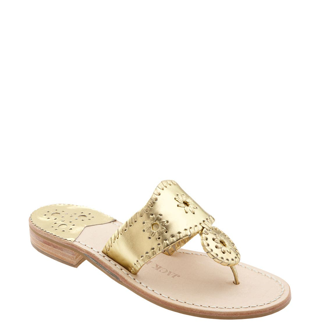 Alternate Image 1 Selected - Jack Rogers Whipstitched Flip Flop (Women)