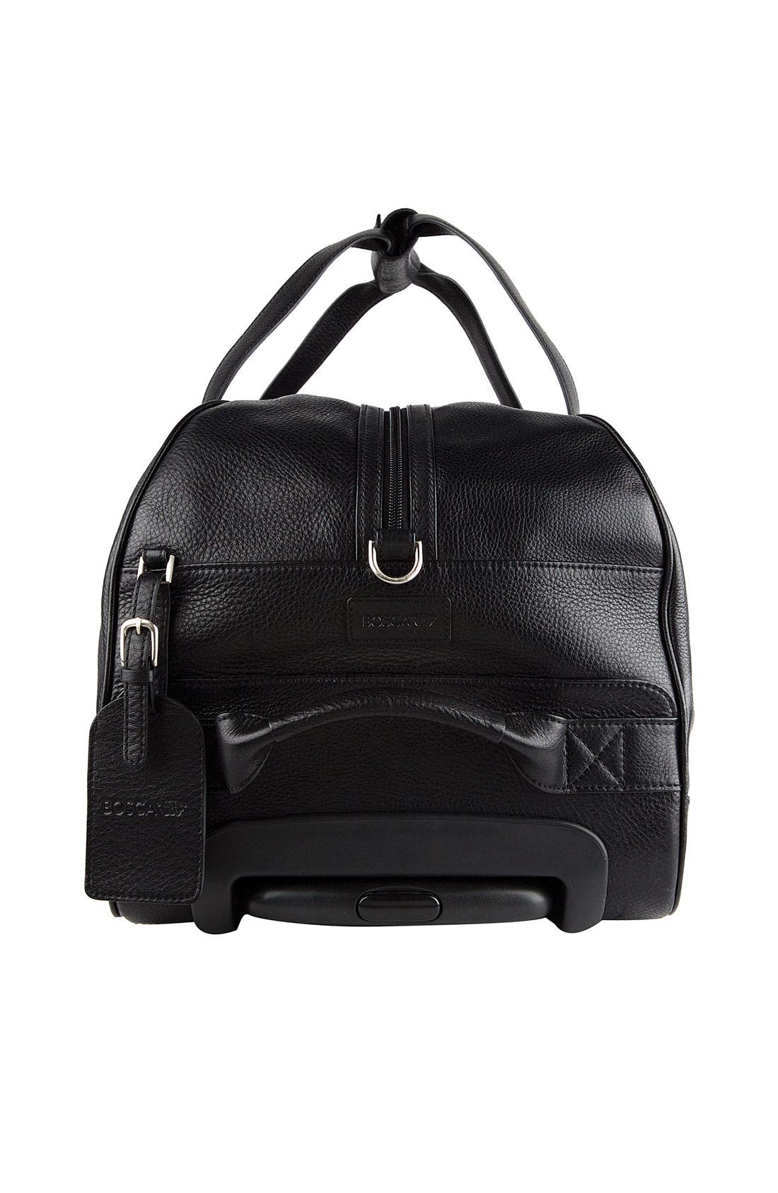 Alternate Image 3  - Bosca 'Tribeca Collection' Wheeled Duffel Bag