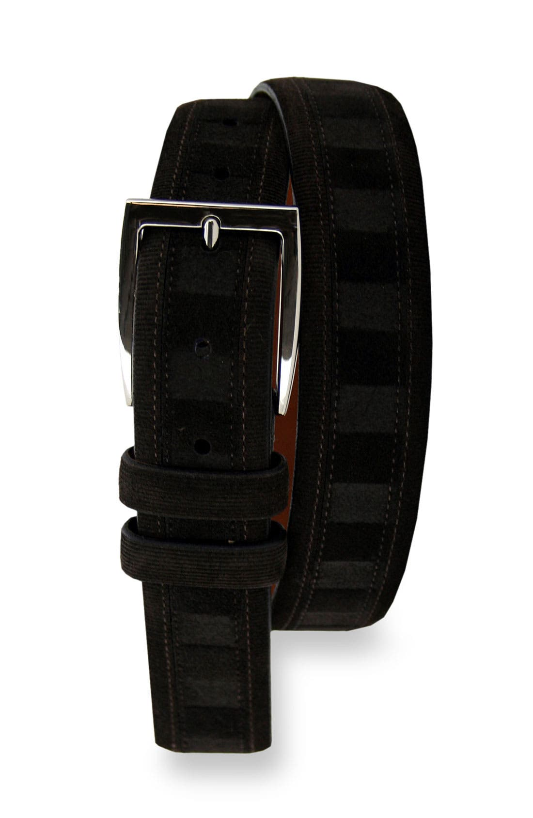 Alternate Image 1 Selected - Remo Tulliani 'Deimos' Suede & Corduroy Belt