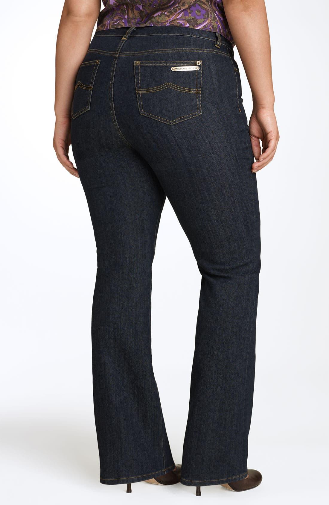 Alternate Image 2  - MICHAEL Michael Kors 'Sausalito' Bootcut Jeans (Plus Size)