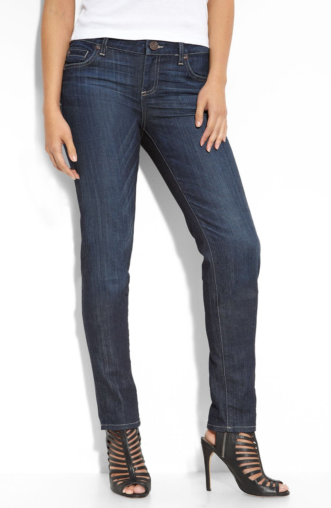 Alternate Image 1 Selected - KUT from the Kloth Skinny Stretch Jeans (Magnificent Wash)
