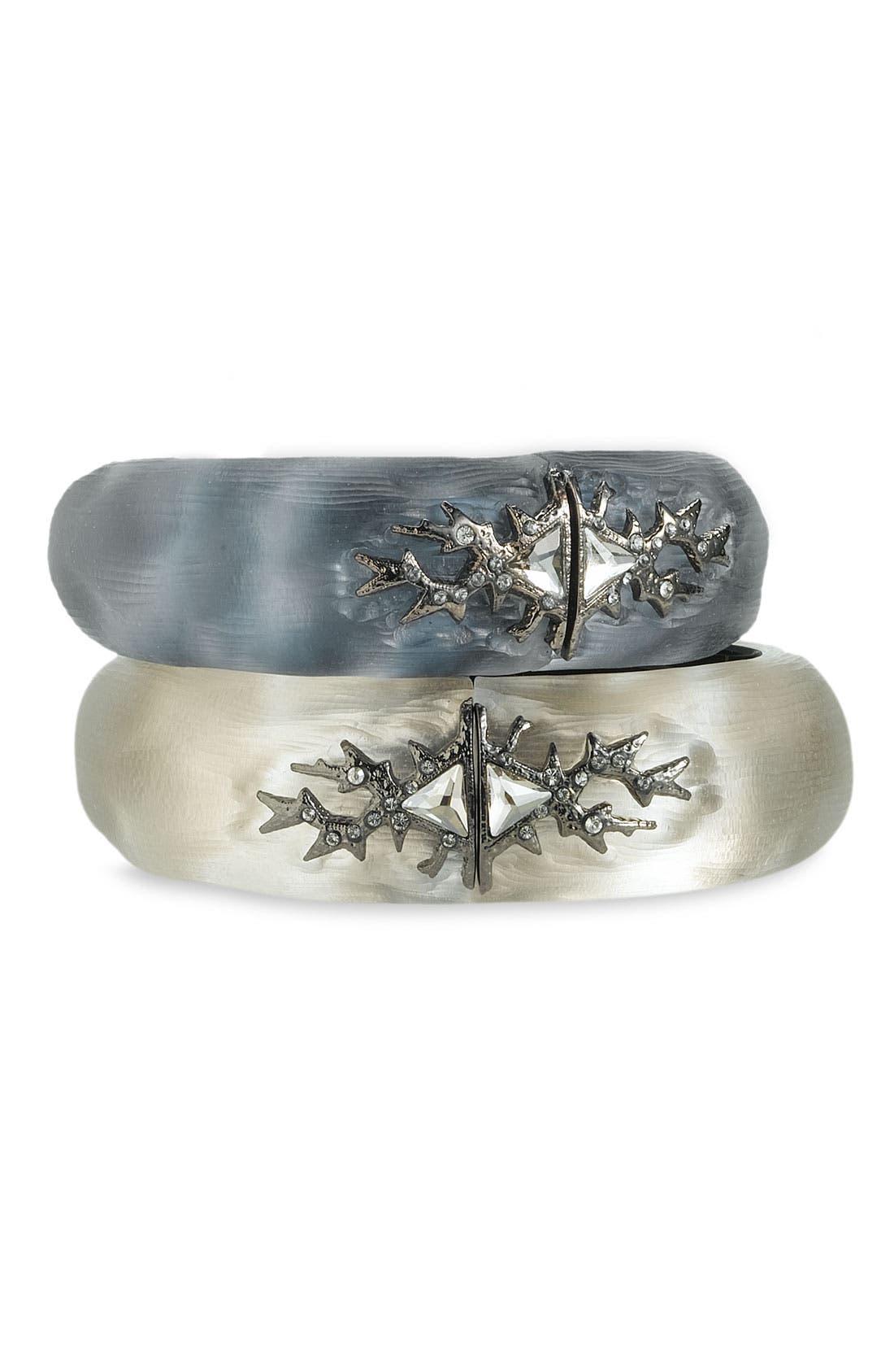 Main Image - Alexis Bittar 'Mystic Winter' Small Hinged Bracelet