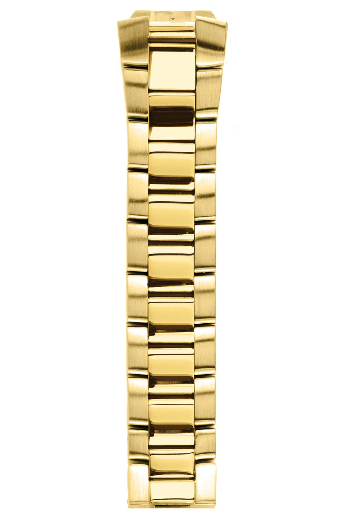Alternate Image 1 Selected - Philip Stein® 20mm Gold Plated Watch Bracelet