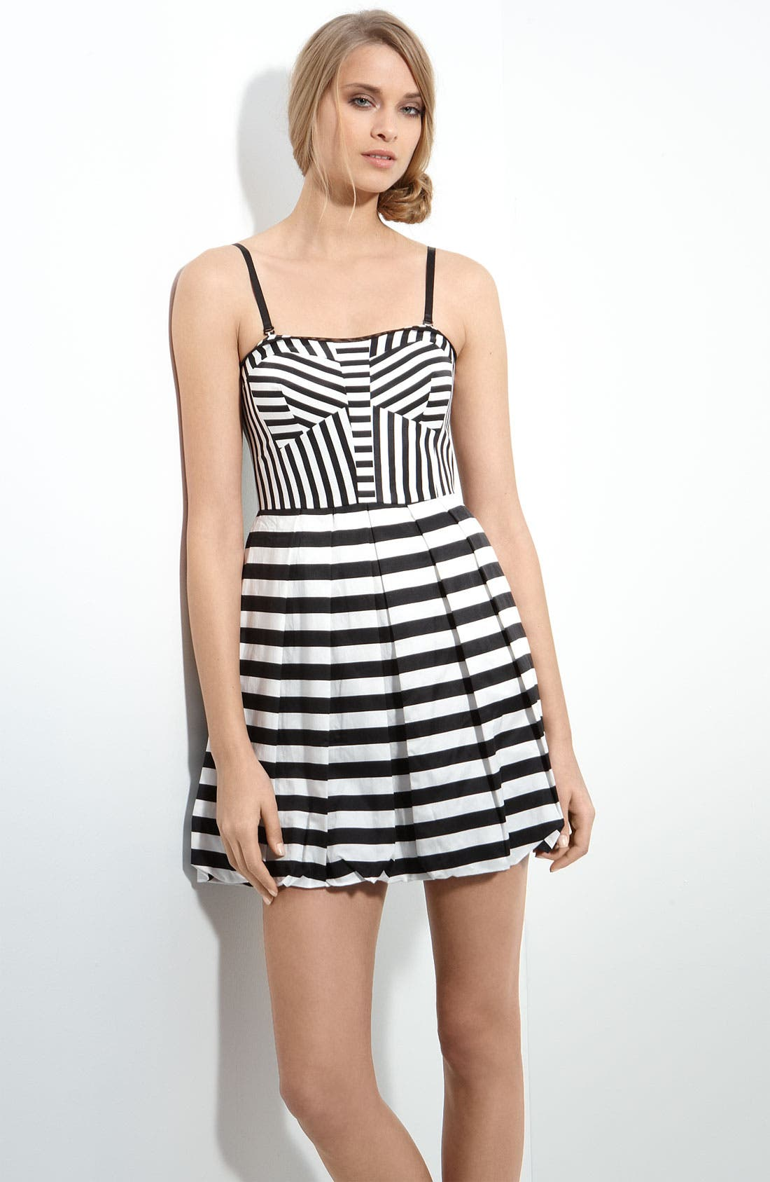 Main Image - Mcginn 'Ivy' Stripe Tank Dress