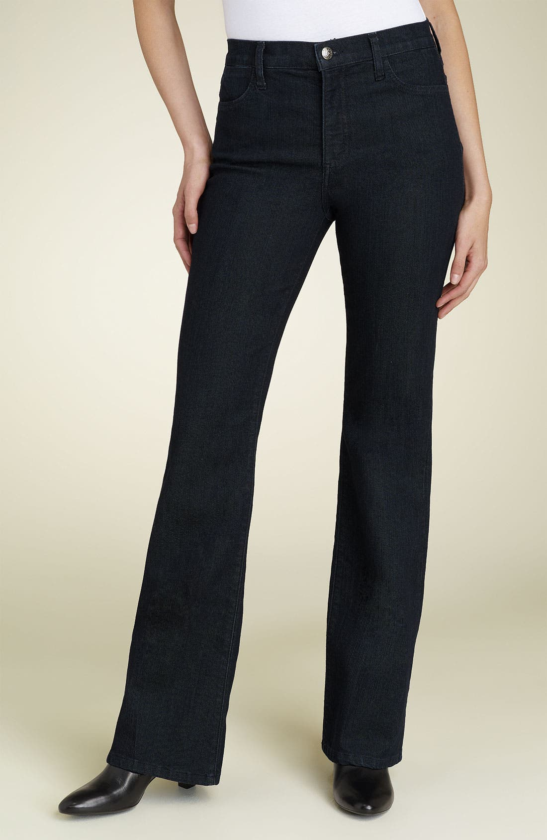 Alternate Image 1 Selected - NYDJ 'Basic' Bootcut Stretch Jeans (Long)