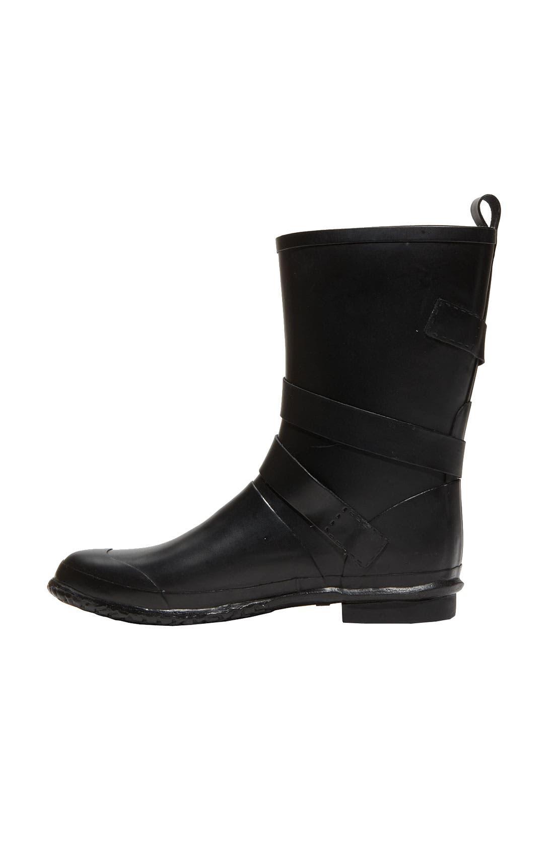 Alternate Image 3  - Burberry Buckled Rain Boot (Women)