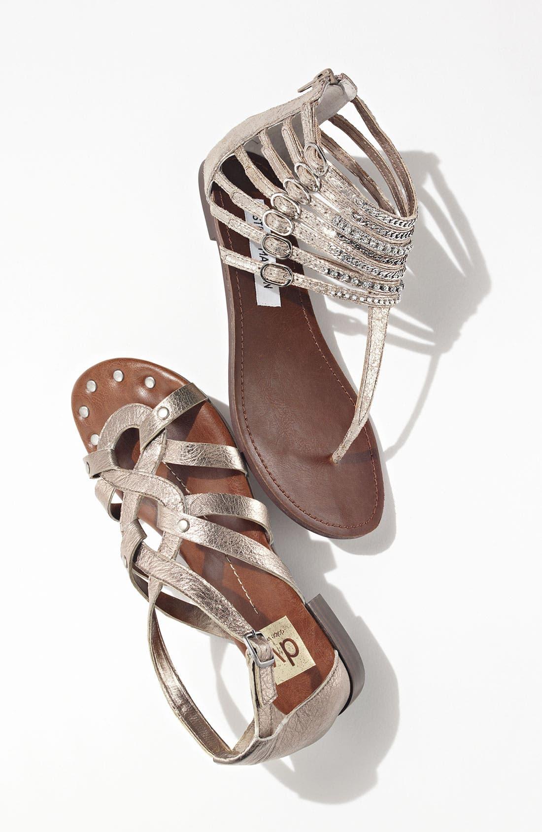 Alternate Image 5  - Steve Madden 'Simple' Leather Sandal
