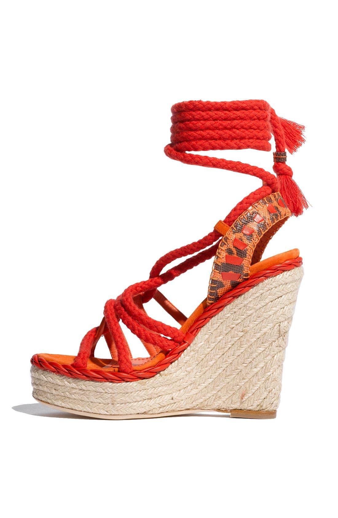 Alternate Image 2  - Dior 'Tahiti' Platform Wedge Sandal