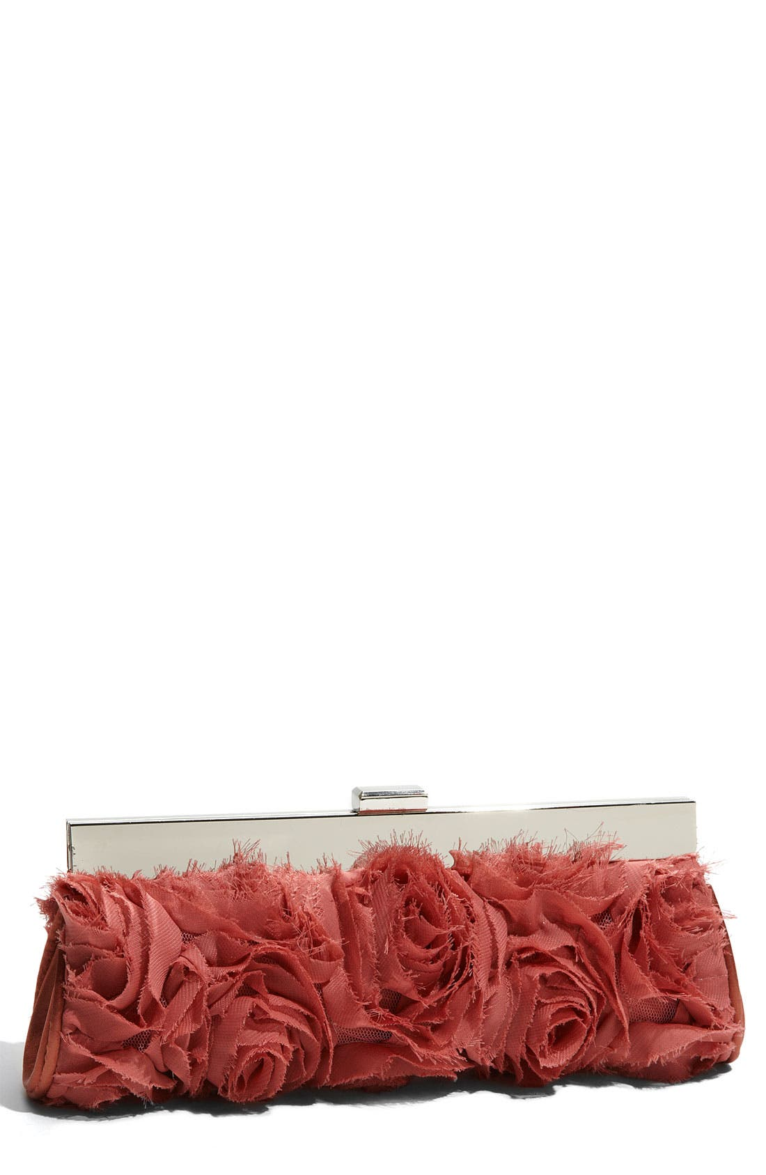 Alternate Image 1 Selected - Expressions NYC 'Rose' Frame Clutch