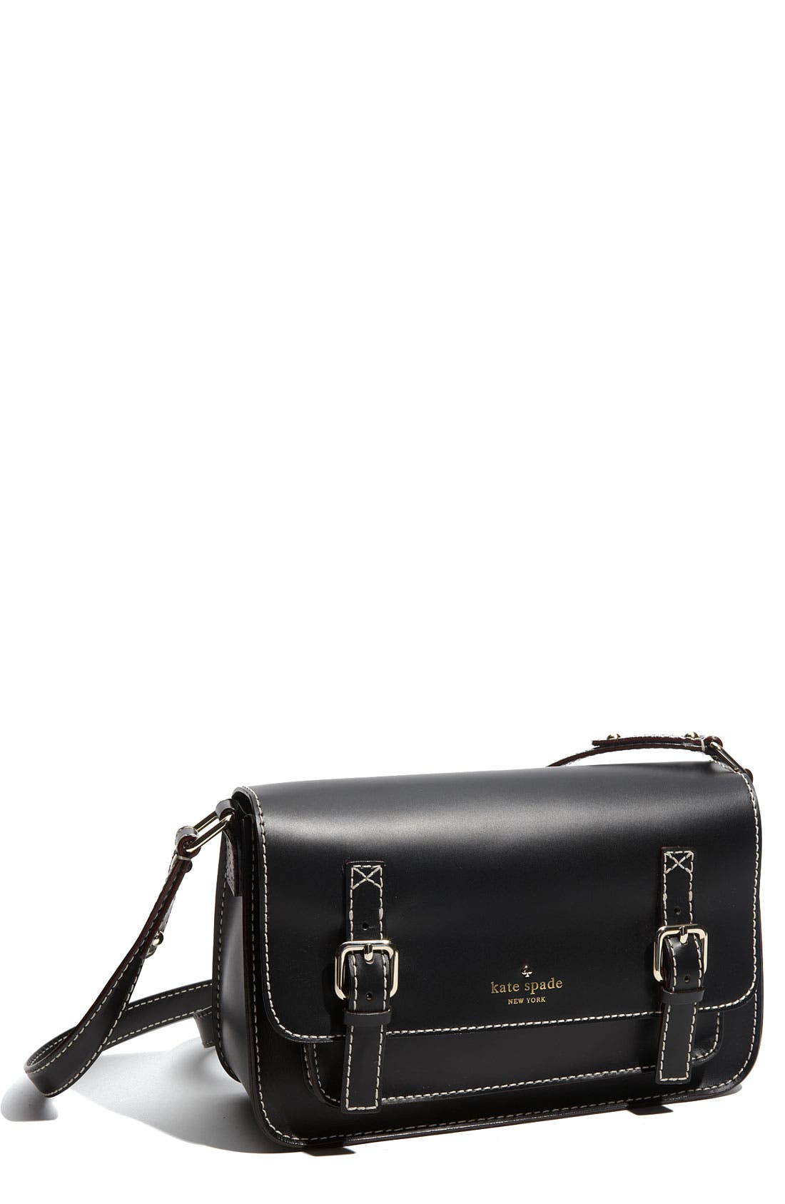 Main Image - kate spade new york 'essex scout' leather flap crossbody bag
