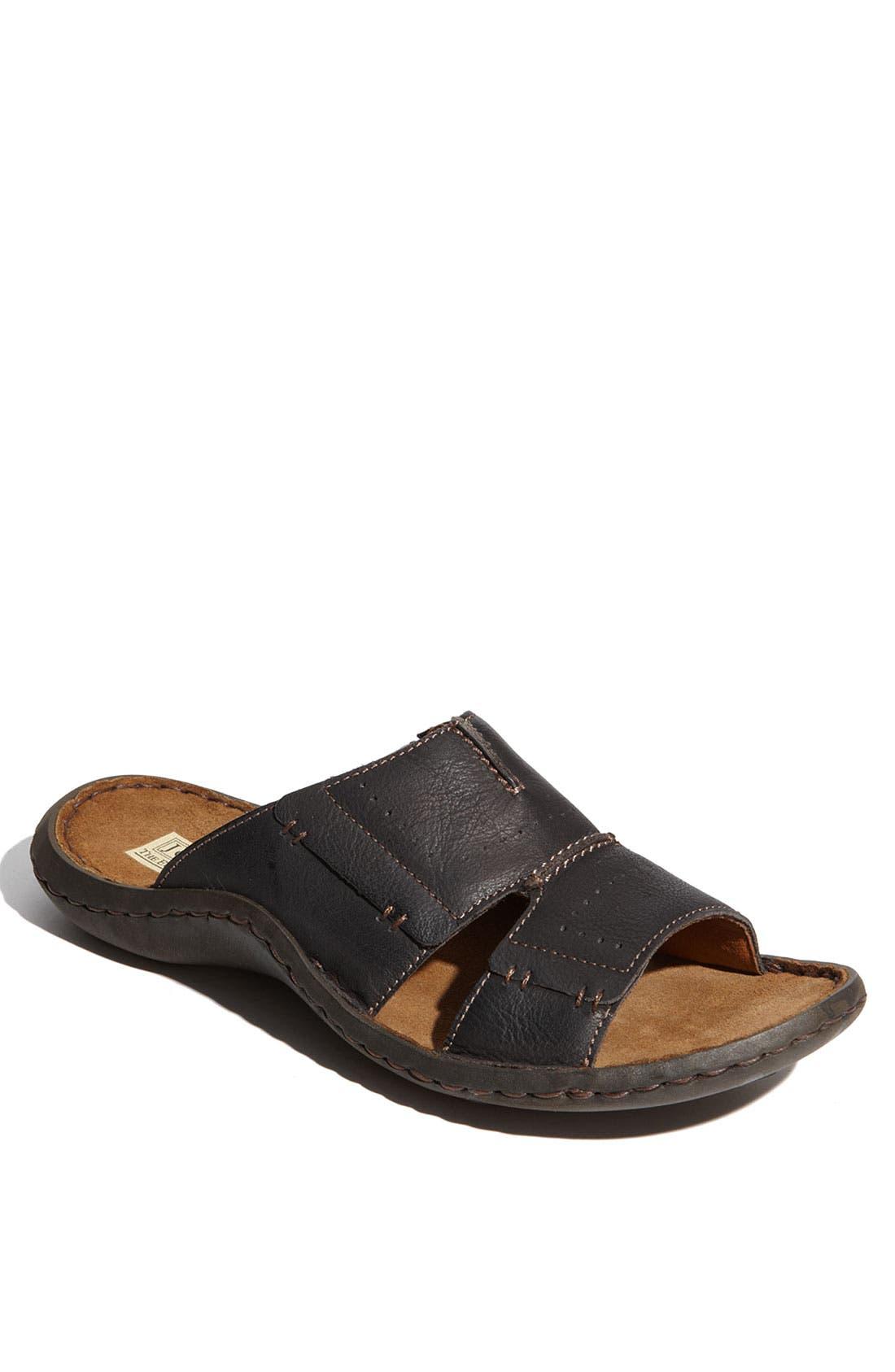 Alternate Image 1 Selected - Josef Seibel 'Larry' Slide Sandal