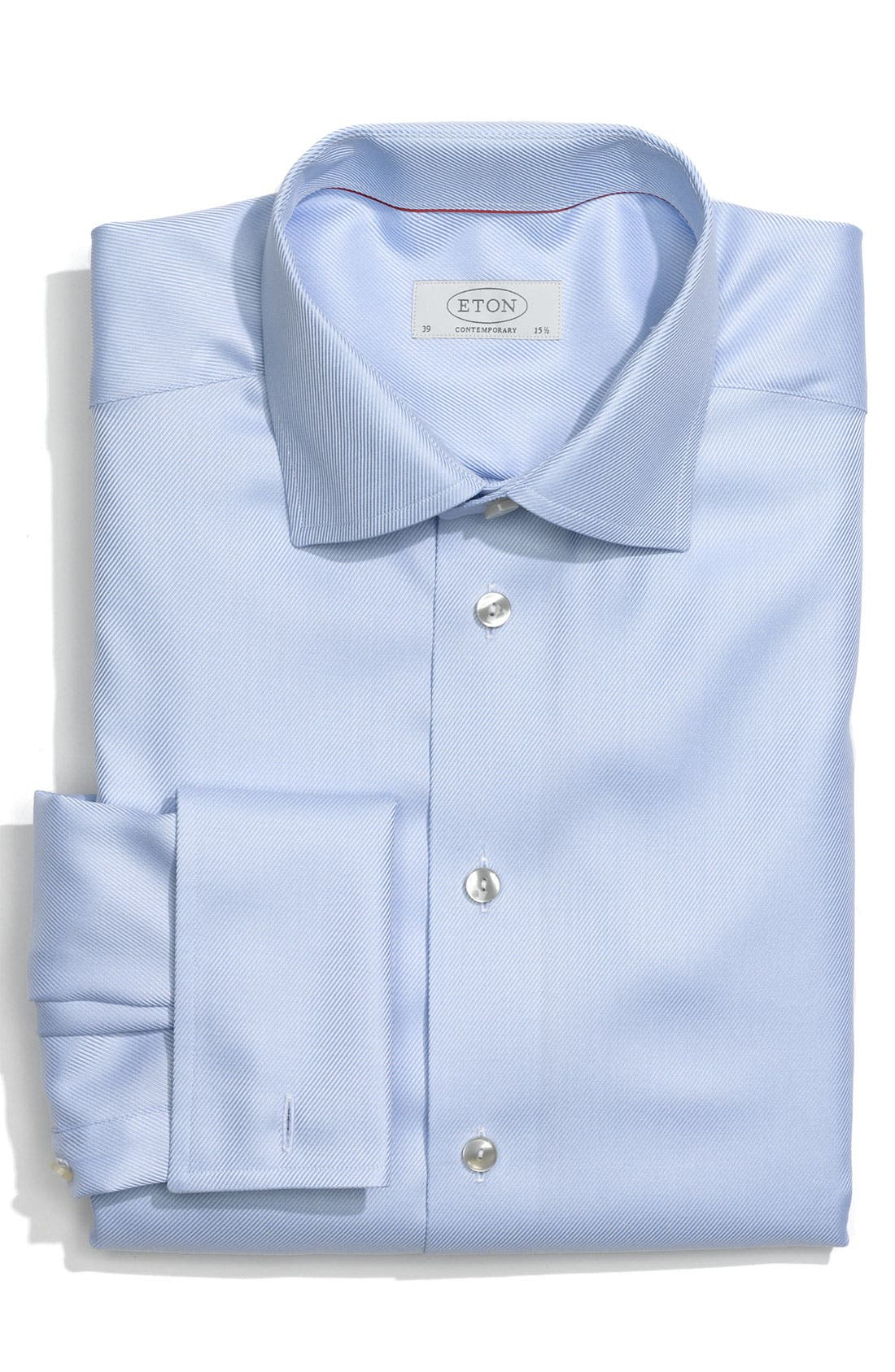 Main Image - Eton Contemporary Fit Dress Shirt (Online Only)