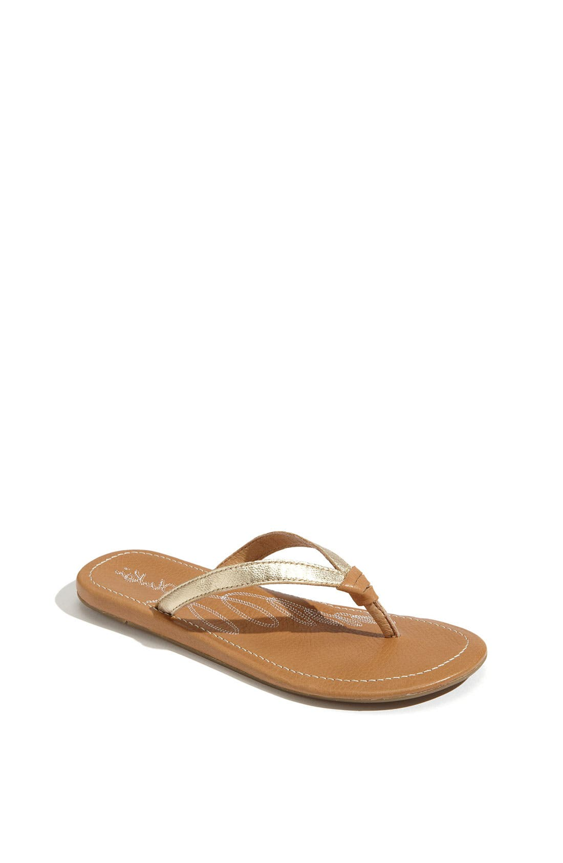 Alternate Image 1 Selected - OluKai 'Ulala' Flip Flop (Toddler, Little Kid & Big Kid)