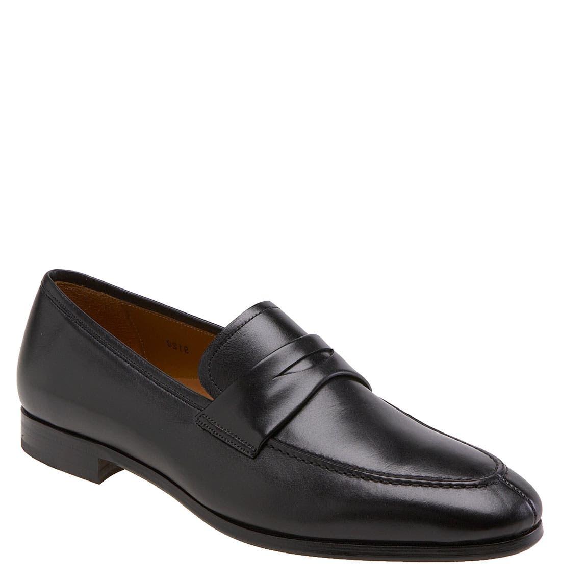 'Bradley II' Loafer,                         Main,                         color, Black