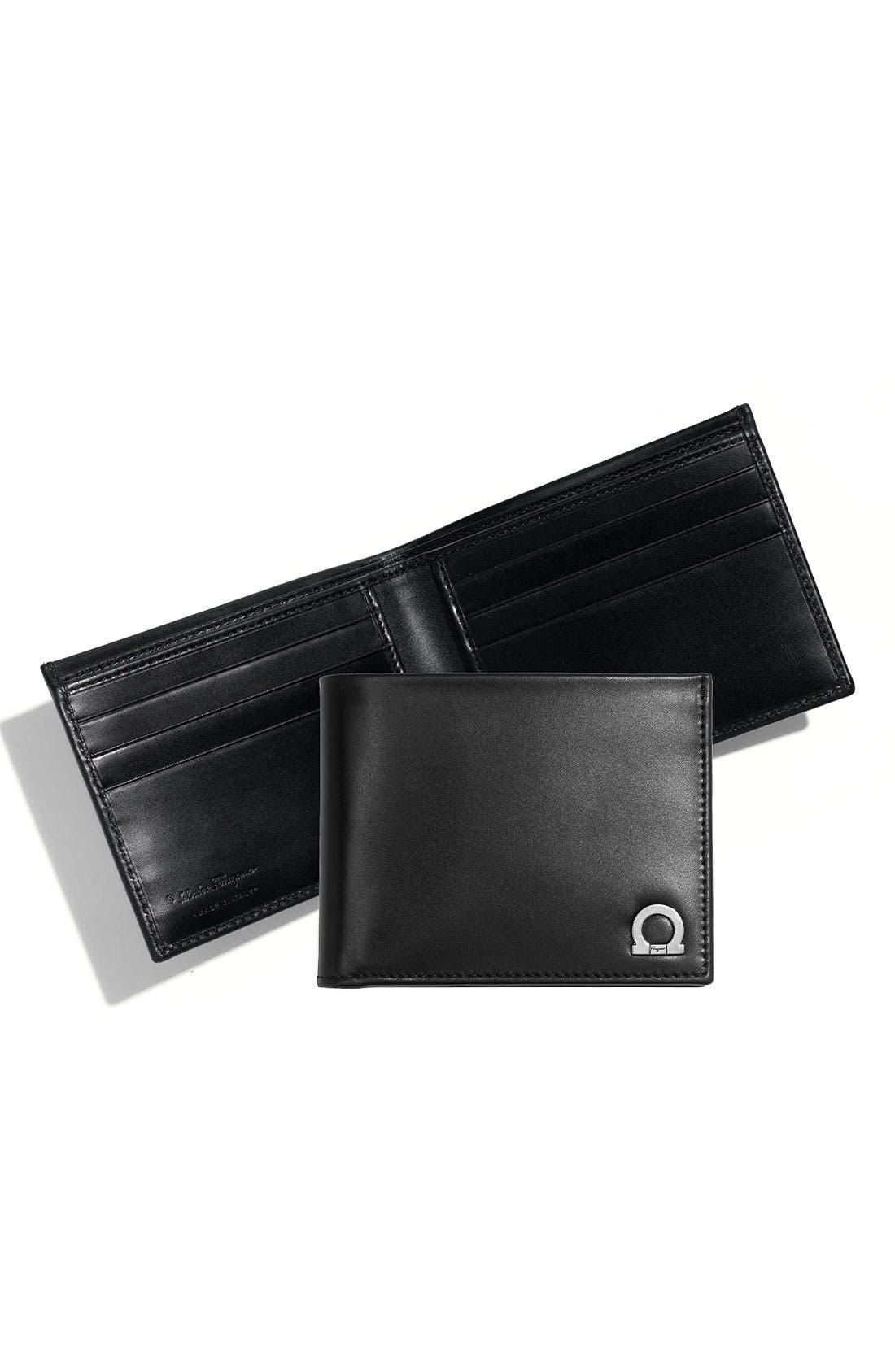 Main Image - Salvatore Ferragamo 'Monte Carlo' Bifold Wallet