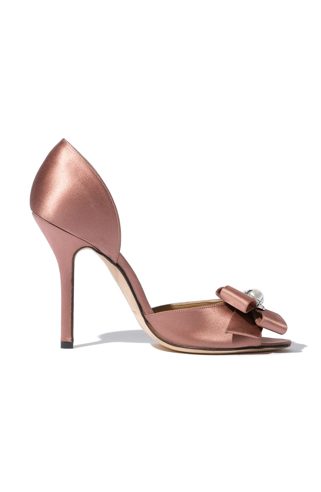 Alternate Image 2  - Oscar de la Renta Satin Pump