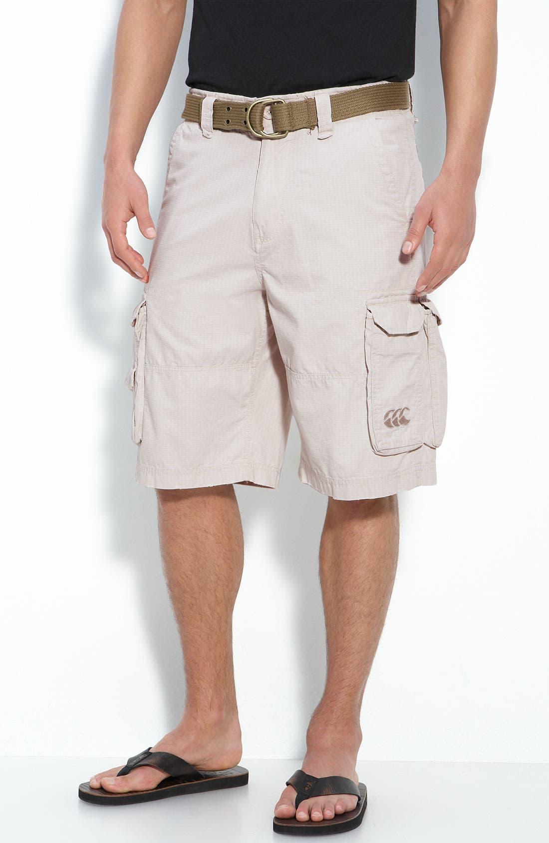 Main Image - Canterbury of New Zealand Ripstop Cargo Shorts