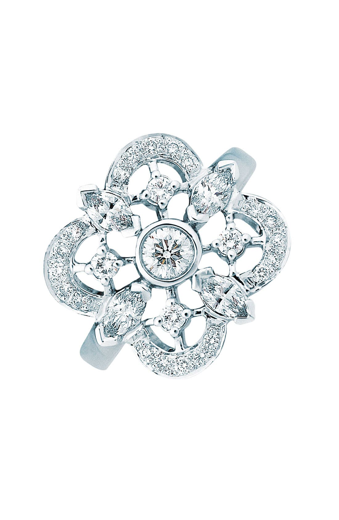 Main Image - Kwiat 'Clover' Diamond Ring