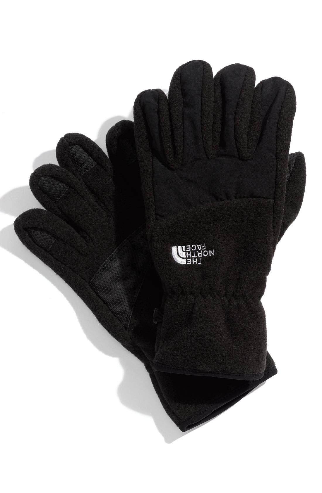Alternate Image 1 Selected - The North Face 'Denali' Fleece Gloves (Men)