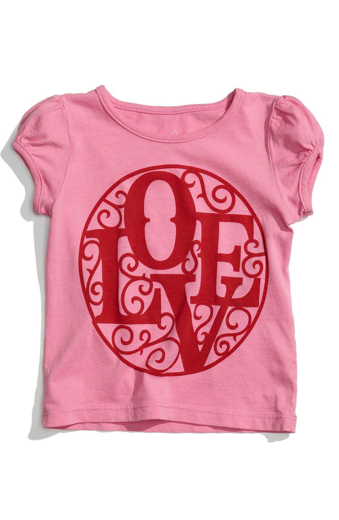 Main Image - Peek 'Love' Tee (Infant)