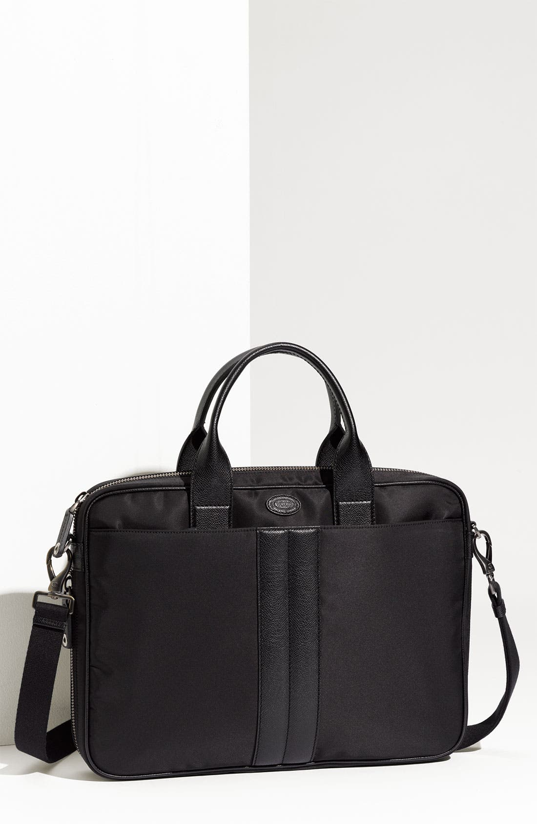 Alternate Image 1 Selected - Tod's Nylon Briefcase
