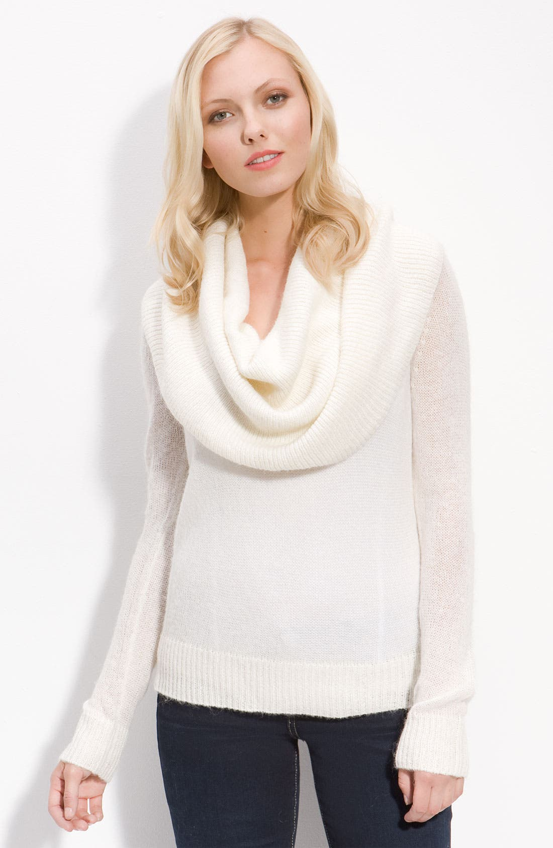 Alternate Image 1 Selected - MICHAEL Michael Kors Deep Cowl Neck Sweater
