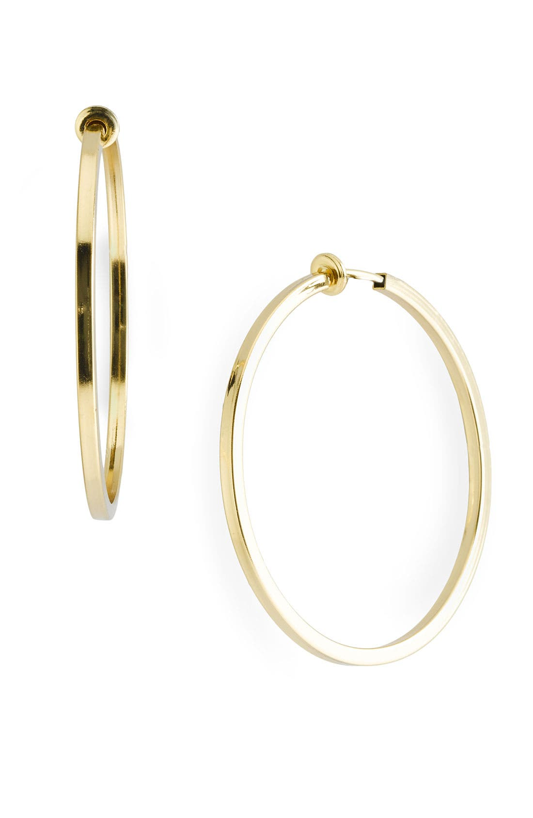 Alternate Image 1 Selected - Nordstrom Hoop Clip Earrings