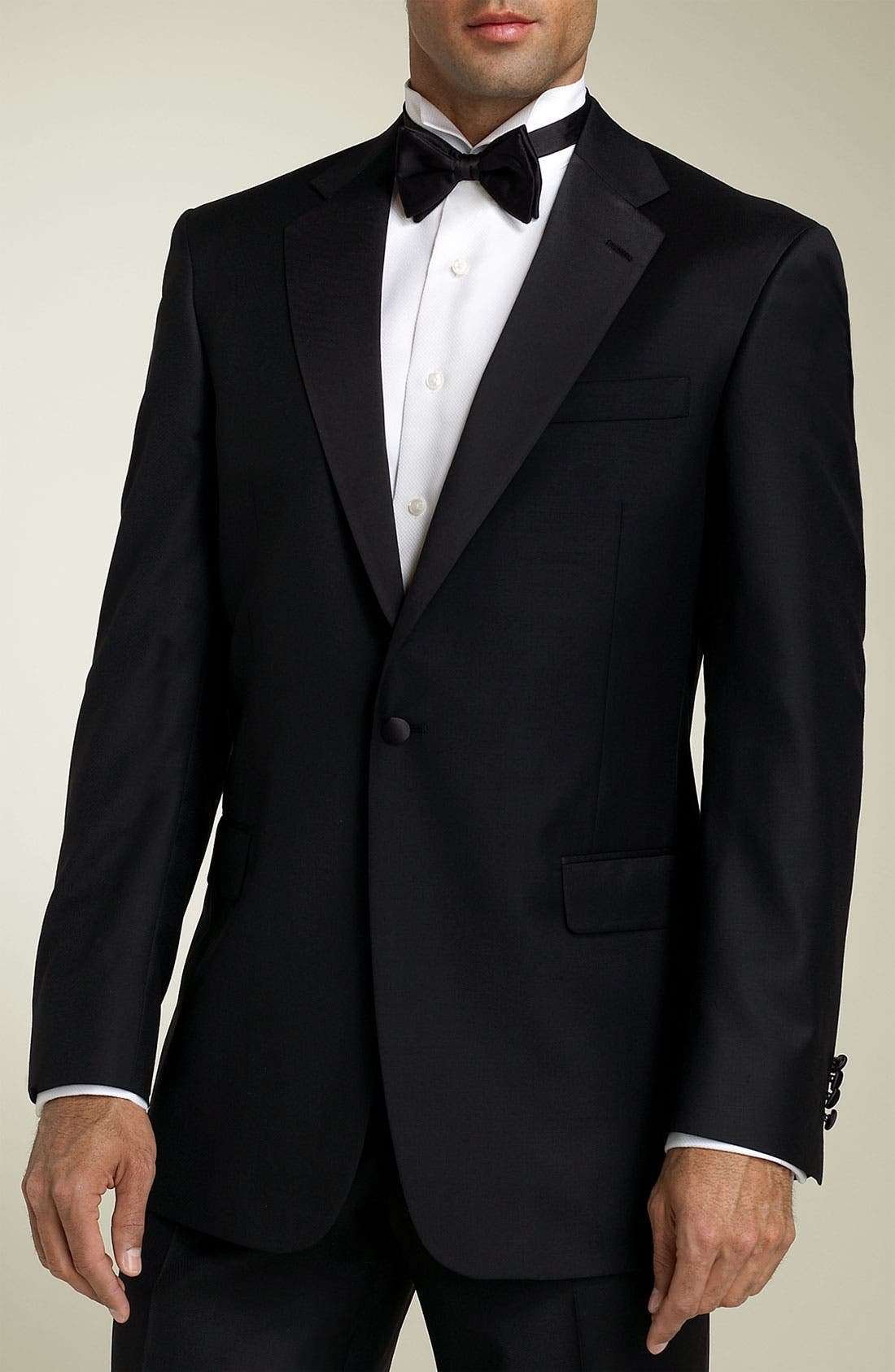 Alternate Image 1 Selected - Hart Schaffner Marx 'Gold Trumpeter - Capital Collection' Wool Tuxedo