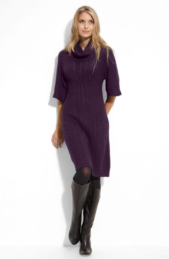 Tahari by Arthur S. Levine Cowl Neck Sweater Dress | Nordstrom