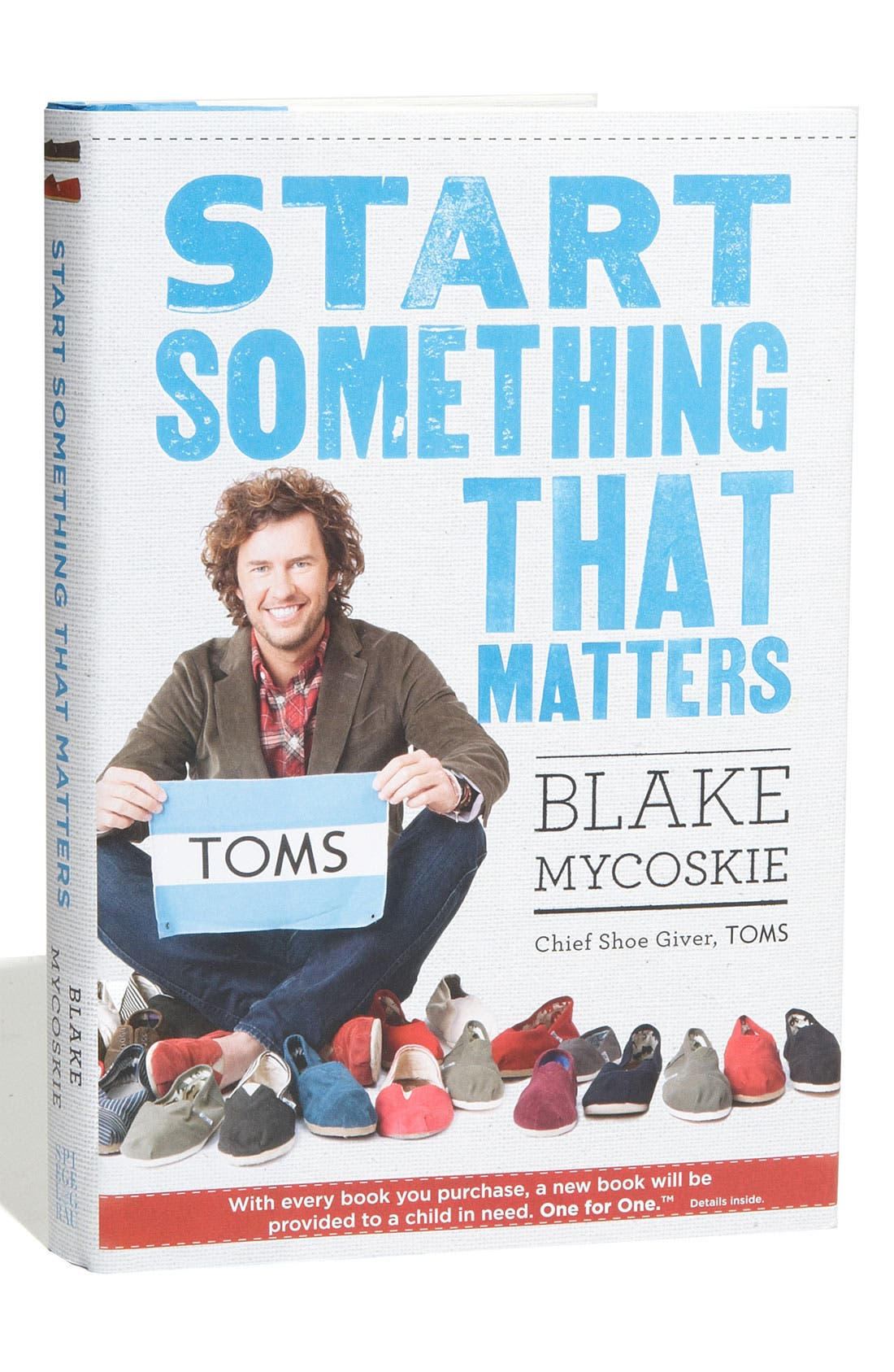 Alternate Image 1 Selected - TOMS 'Start Something That Matters' Book