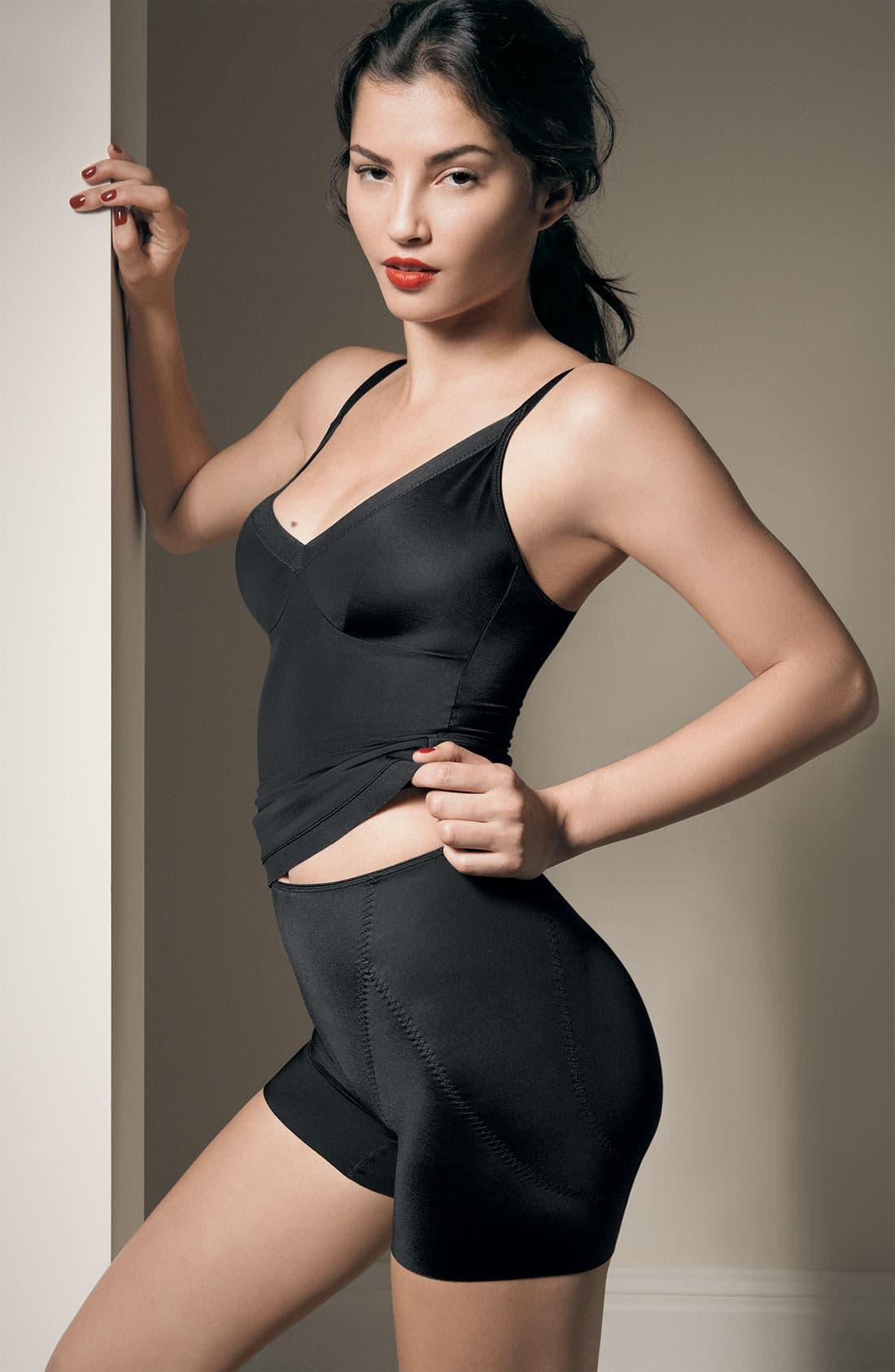 Alternate Image 3  - SPANX® 'Slimplicity Butt Boosting' Girl Shorts