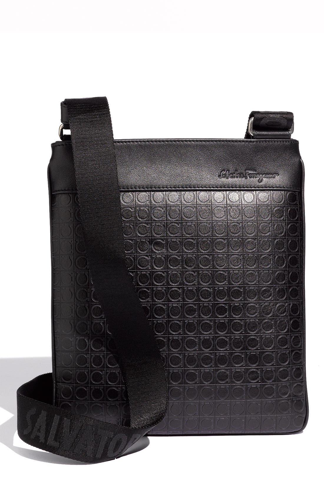 Alternate Image 1 Selected - Salvatore Ferragamo 'Gamma' Messenger Bag