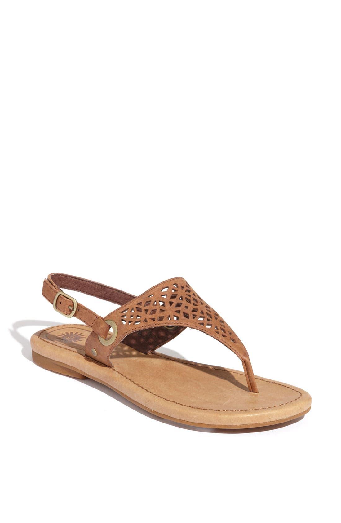 Alternate Image 1 Selected - UGG® Australia 'Vivyan' Sandal