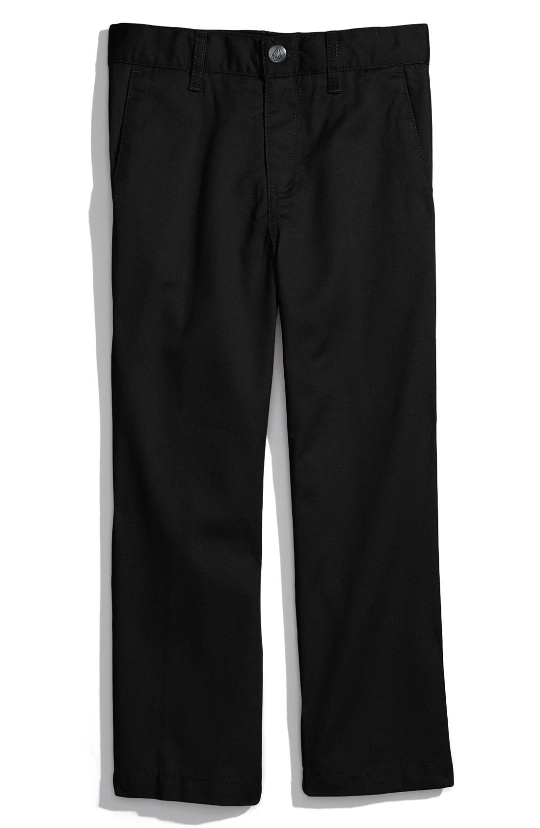 Alternate Image 1 Selected - Volcom 'Modern' Chinos (Little Boys)