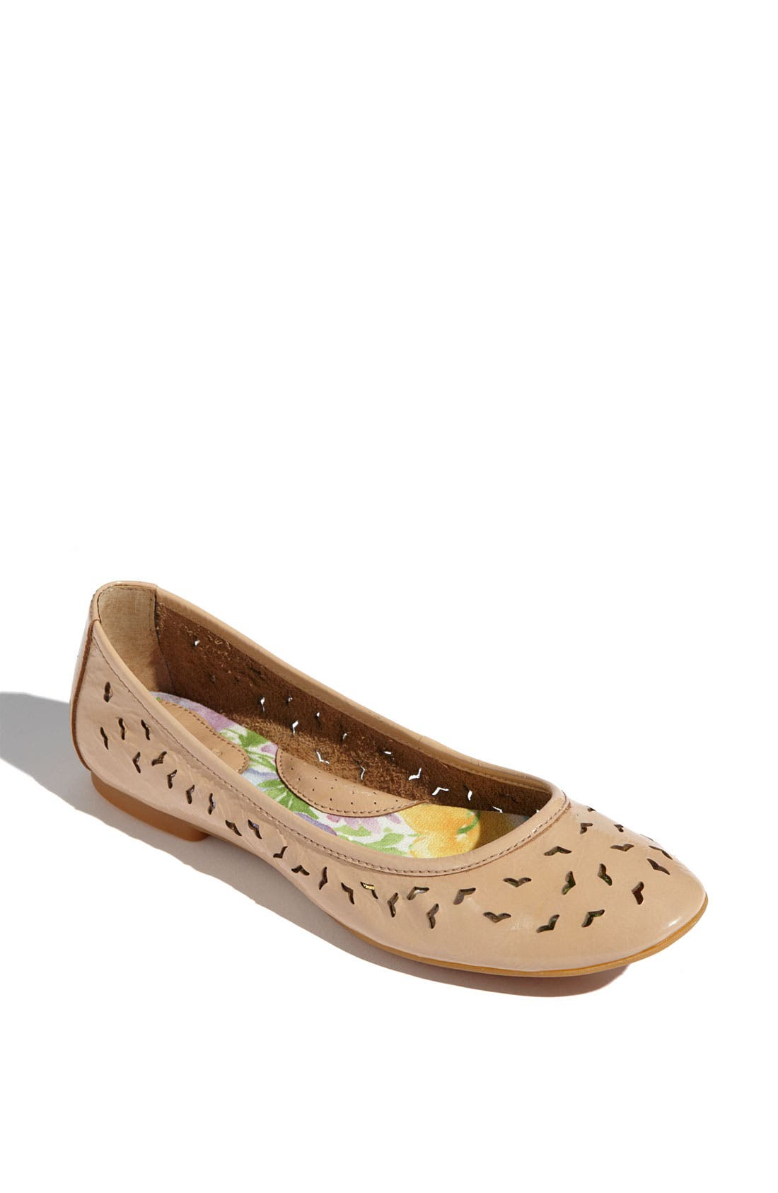 'Canarie' Flat,                             Main thumbnail 1, color,                             Light Pink Patent