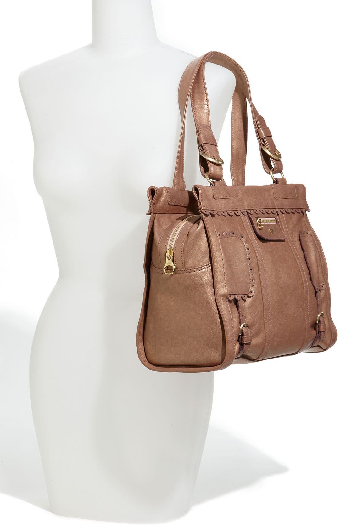 Alternate Image 2  - See By Chloé 'Poya Metallic Vintage' Leather Shoulder Bag