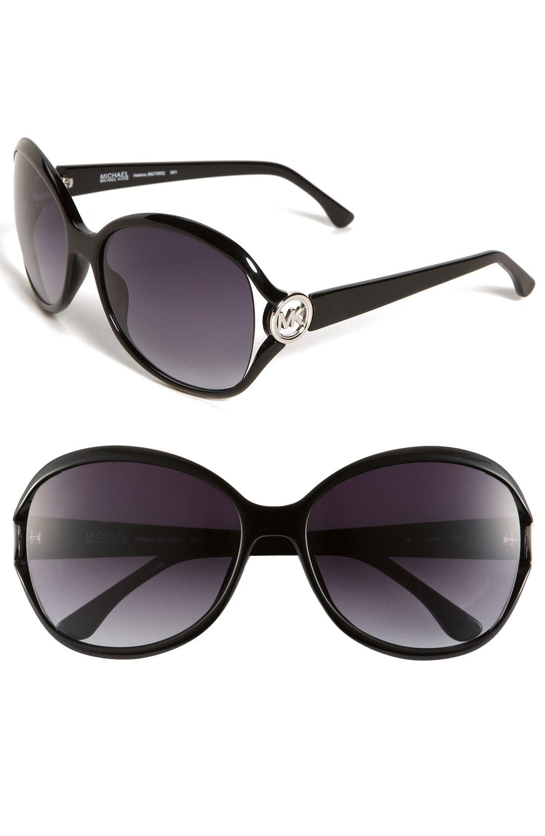 Sunglasses,                             Main thumbnail 1, color,                             Black