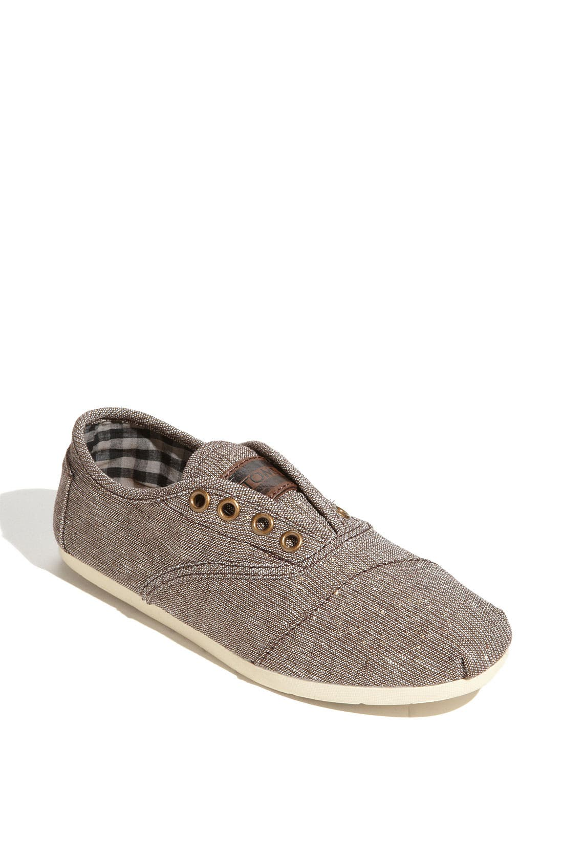 Alternate Image 1 Selected - TOMS 'Cordones' Metallic Slip-On (Women)
