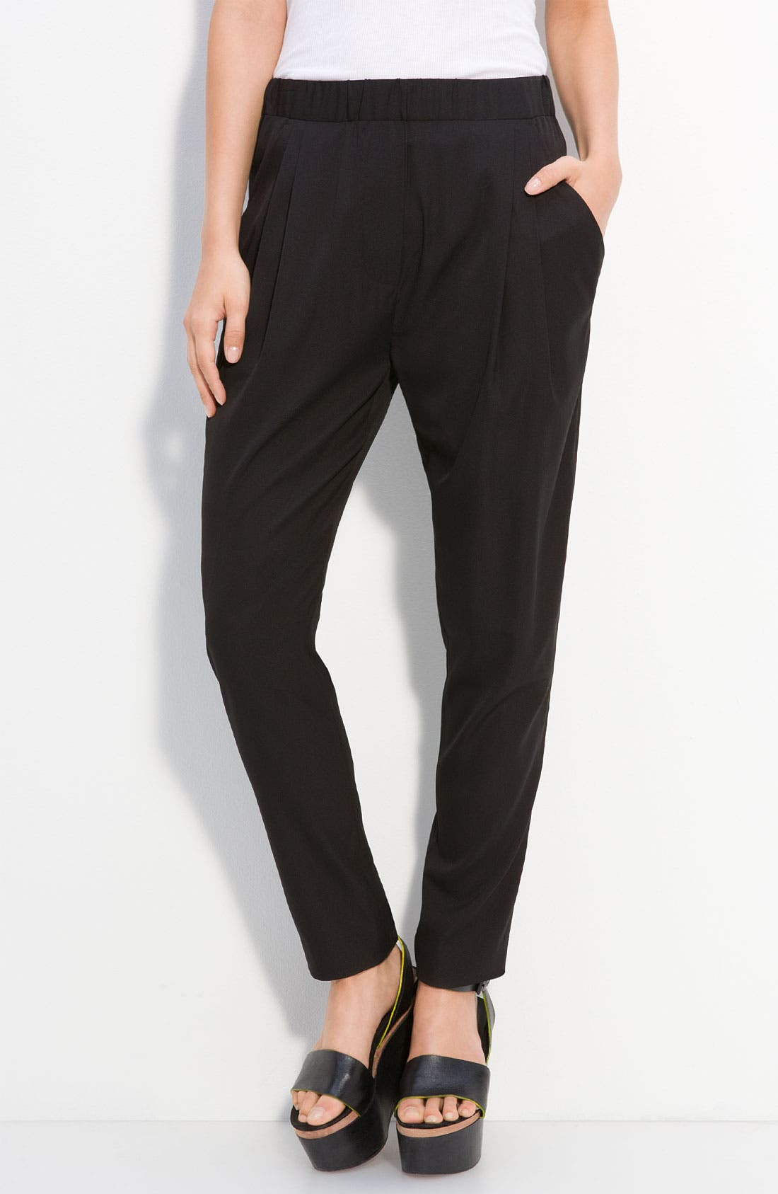 Alternate Image 1 Selected - 3.1 Phillip Lim Draped Silk Crepe Pants