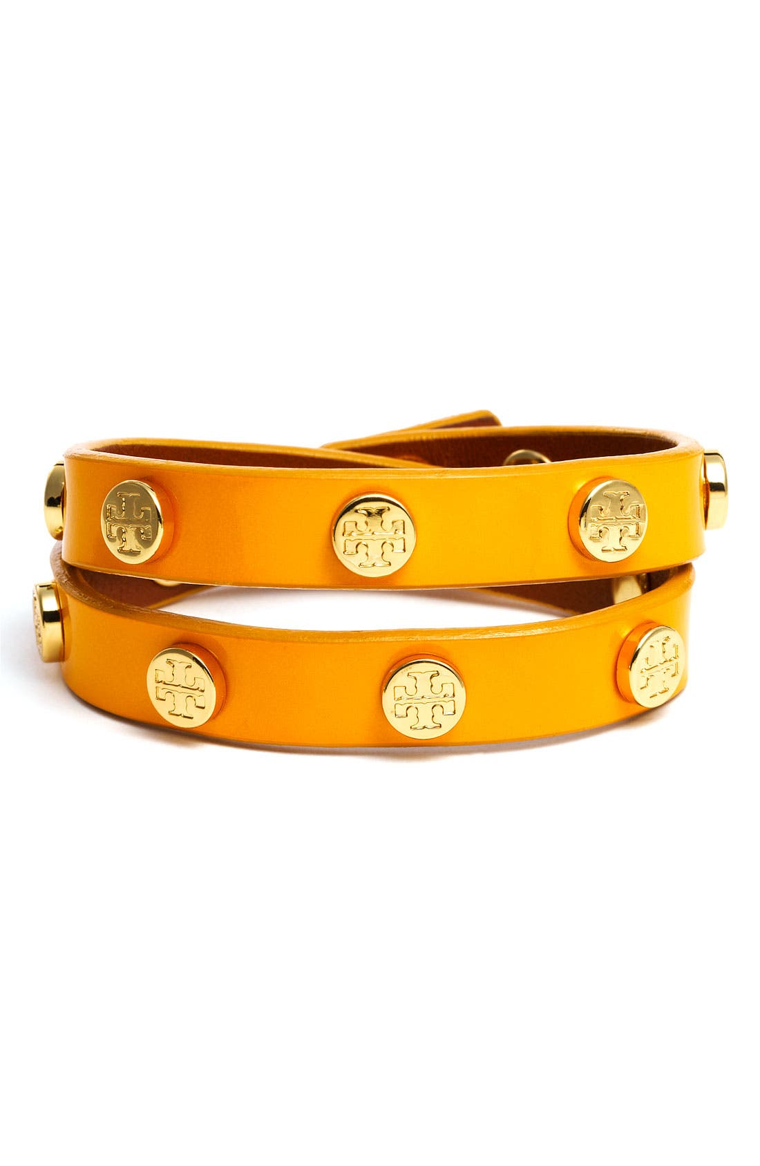 Alternate Image 1 Selected - Tory Burch Double Wrap Bracelet