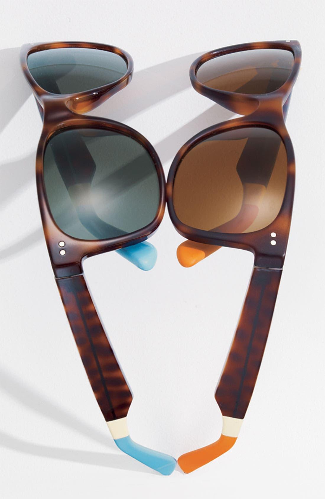 Alternate Image 3  - TOMS 'Beachmaster' Sunglasses